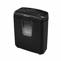 FS-46866 Шредер Fellowes® Powershred® 6C черный